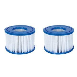 Lay-Z-Spa 90352 Filter 2er-Pack Filterkartusche Poolfilter Ersatz Bestway Coleman SaluSpa 90352E