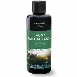 SAUNA WALDAUFGUSS - Allgäuer Naturluft von AllgäuQuelle