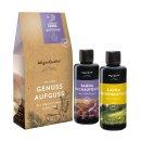 Geschenkset aus 2 Premium Bio-Saunaaufgüssen von...