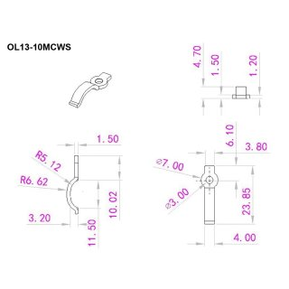 Montagehalterung Clips LED IP65 strip 10mm